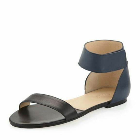 Chloe Shoes - Chloe Gala two tone sandal ad6766aaf52